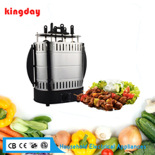 2017 R&D low cost high quality convenient operating dandy 1400W AC motor BBQ kitchen vertical grill for home electric