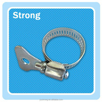 prettey handle America metal clamps,hose clamp clips