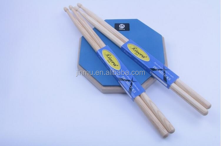 American bulk Hickory drum stick 5A 5B drumsticks with wood tip