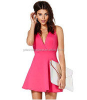 Dress Up Games For Girls!! 2015 Hot Pink/FUSHICA herringbone cross straps india sexy dress/girls' dress