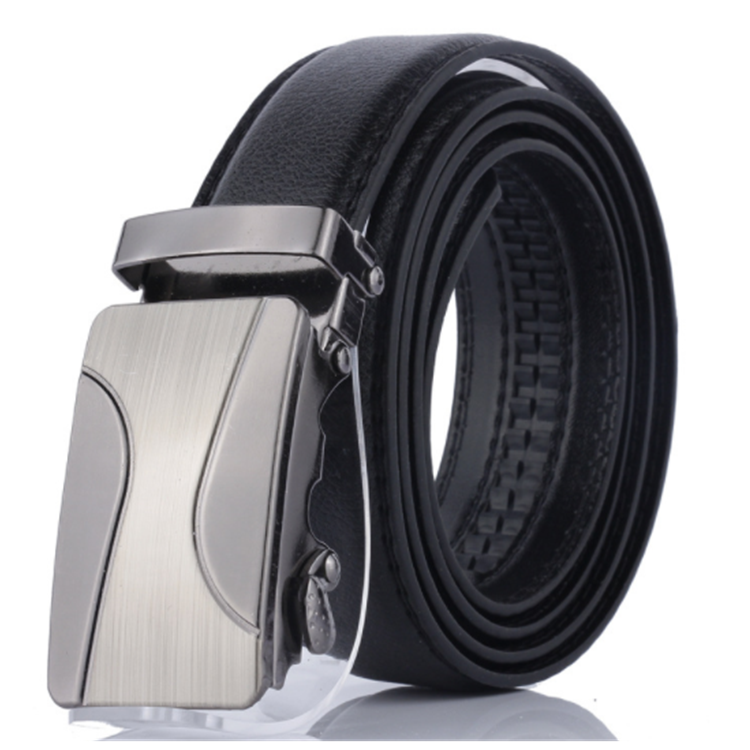 Fashion Black PU leather <strong>Belt</strong> for Man