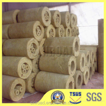 Rock Wool Building Heat Insulation Pipe Material