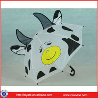 19''*8K lovely kids cow umbrella