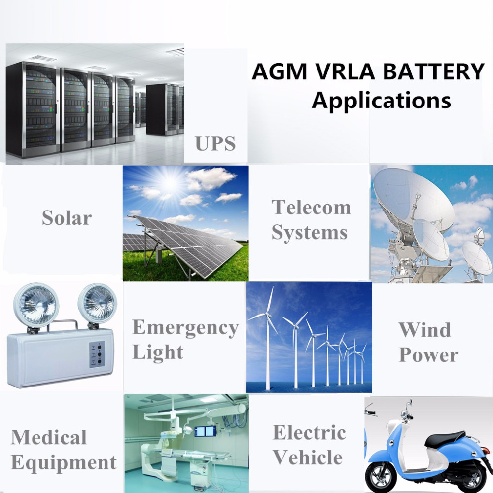 VRLA AUTO CAR DEEP CYCLE STORAGE SOLAR BATTERY 12V 150AH