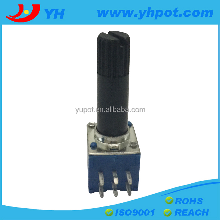 9mm dual b10k rotary potentiometer without switch