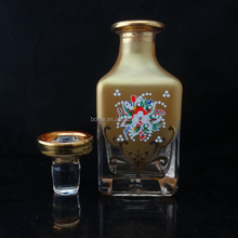 150ml square handmade crystal perfume container/bottle