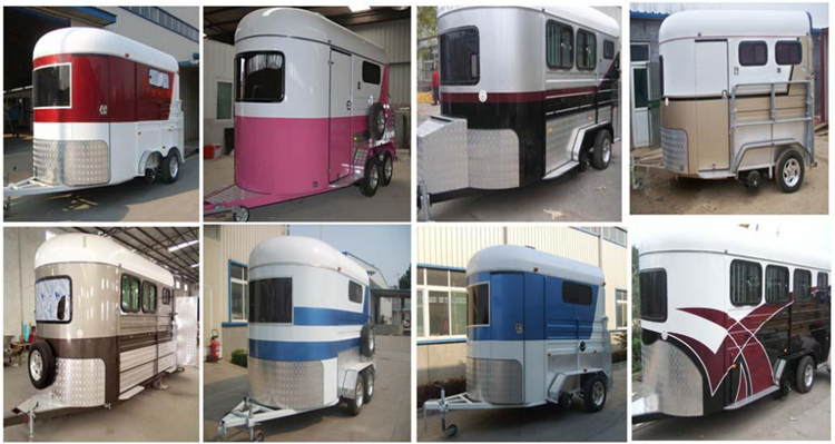 Gooseneck horse trailer used horse trailer with living quarters .png
