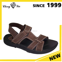 china wholesale alibaba Latest New Fashion leather upper&Fabric Lining Latest Design Mens Sandal