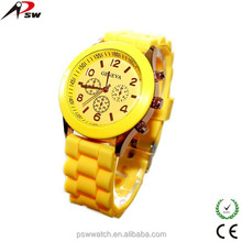 fashion all styles geneva silicone watches jelly candy watches