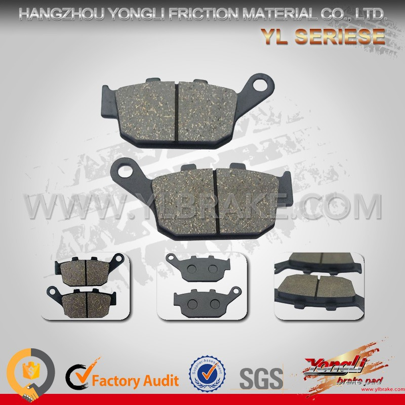 Brake pad motorcycle parts/price of motorcycles in china