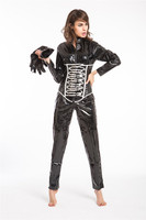 Instyles halloween costumes latex overall jumpsuit sexy costumes