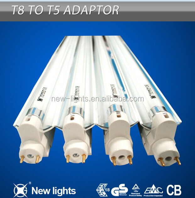 T8 to T5 Energy Saver adaptor light