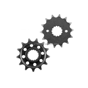 light weight motorcycle front and rear sprocket