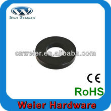 Black Heavy Plain Washer