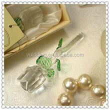 Cheap Clear Discount Crystal Rose For Wedding Souvenir Gifts