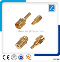 QZM-615 CNC Precision Turning Machining Brass Car Parts