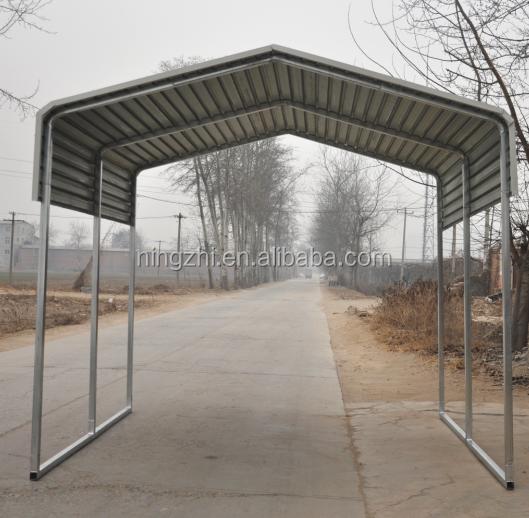 Tube Steel Carports : Steel tube carports metal car barn shelter buy
