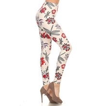 Custom Usa Women Printed Yoga Pants Active Wear High Quality Leggings with high quality