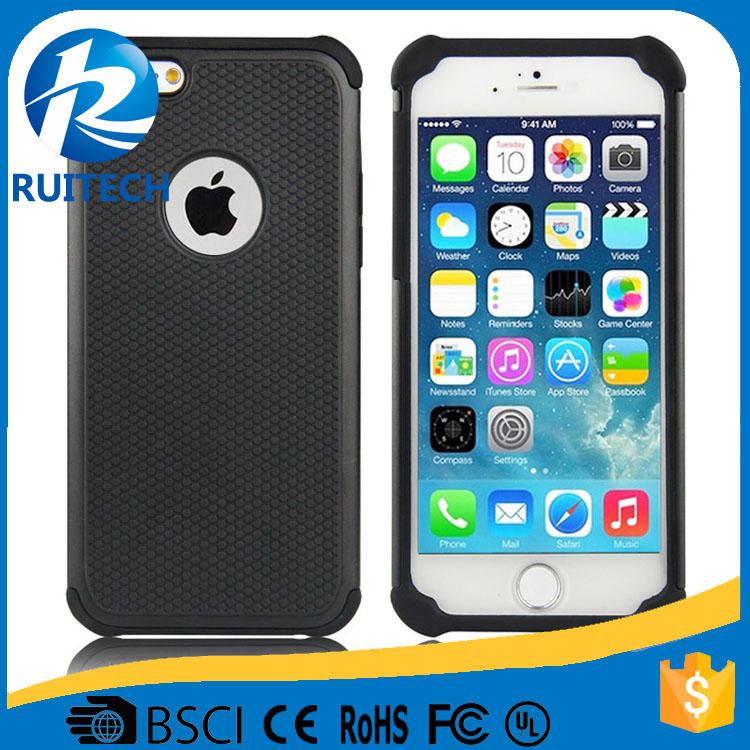 New Arrival TPU + PC Hybrid Football Team Phone Case For iPhone 6