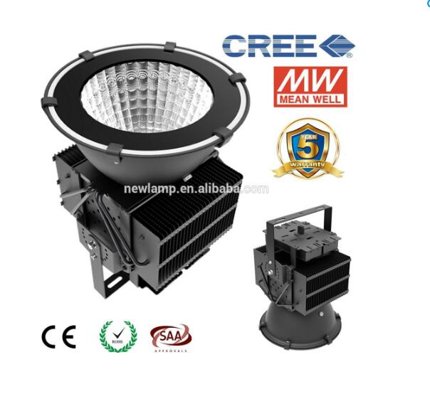 Super Bright 500W LED High Bay Light Warehouse Garage Replace 1000w MH/HPS Lamp