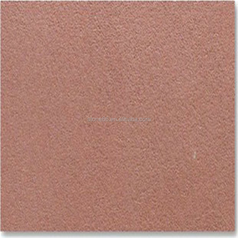 For Garden decoration red sandstone floor and roof tiles