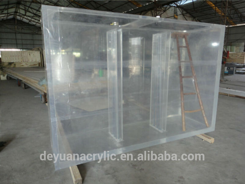 Transparent large acrylic aquariums fish tank for sale for How to build an acrylic fish tank