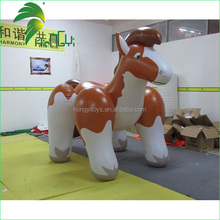 Hongyi Toy Inflatable Big Toy Brown Horse