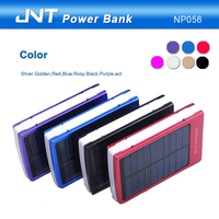 9000mAh waterproof top quality solar power bank charger for phones