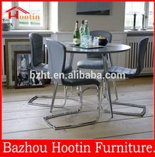 factory sale high quality fashion elegant black luxury dining room set