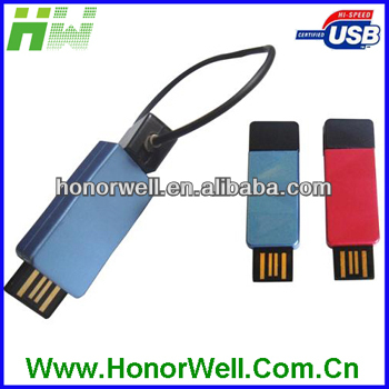 OEM Colorful Plastic Stick USB Flash Drive 8GB with Key Chain