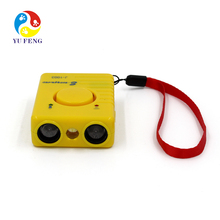 Ultrasonic Dog Repeller Electric Anti Theft Bike Alarm Personal Alarm 120db Function With Flash Light LED Lamp