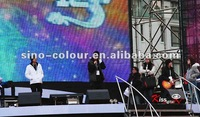 Concert stage background led display,led video wall, full color led screen panel