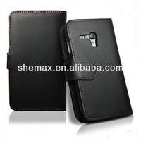 Korean Style PU Leather Case for Samsung Galaxy S3 Mini i8190 Vertical Flip Cover