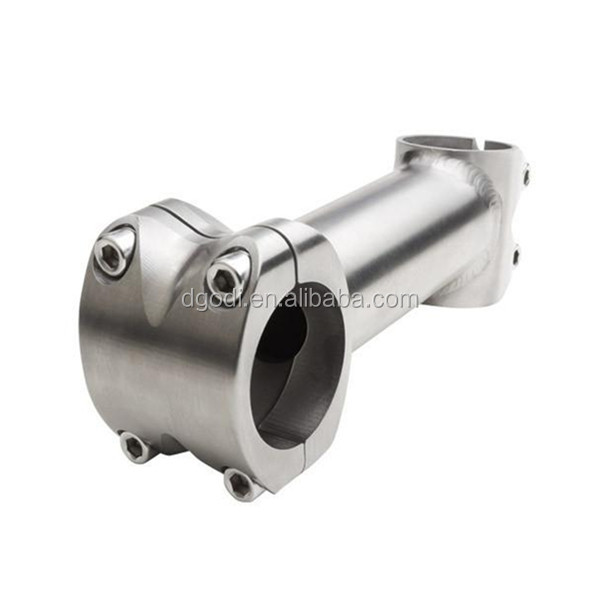 Custom other bicycle parts high quality grade 5 titanium stem for handlebar