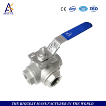 High quality sale manual operation cast steel three-way ball valve,three way cock valves