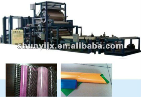 PVC with Fabric/PVC/Paper Multifunctional Laminating lamination Machine
