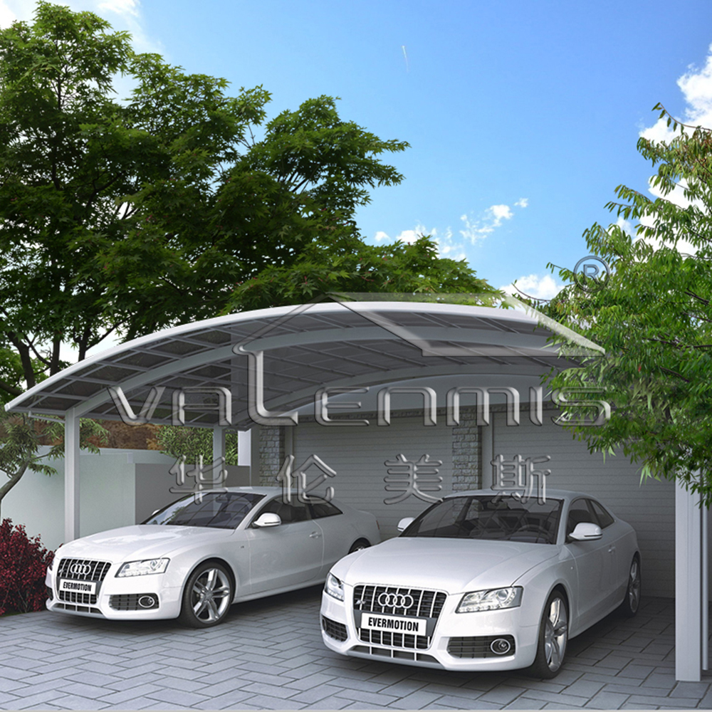 Aluminum double carport for sales buy frame