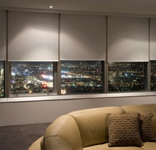 Top-grade Motorized Roller Blinds With Fire Retardant Fabric