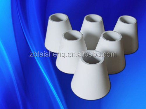 Wear Resistant Alumina Tapered Pipe For Industrial Casting