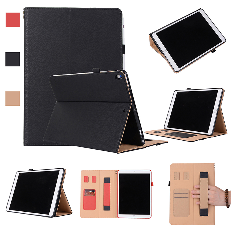 New Premium PU leather flip cover for <strong>ipad</strong> pro 10.5 inch tablet case with stand function
