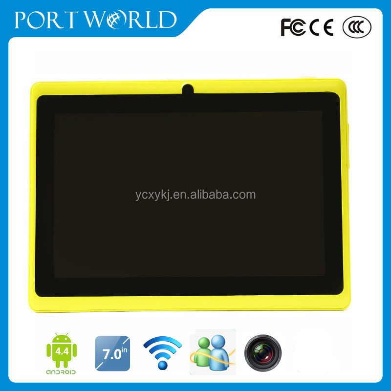 External 3g bluetooth wifi 7inch tablet pc 3D games free download