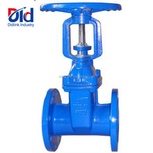 China Sluice Steam Cast Steel Stainless Stem Din 3352 F4 Resilient Seated Rising Gate Valve 3 Inch