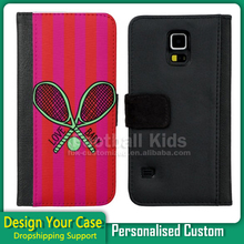 flip leather case 2016 new design for samsung S6edge S7edge back cover