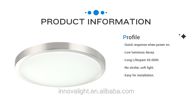 INNOVALIGHT Surface Mounted LED Ceiling Light Round Shape 24W LED Sensor Light