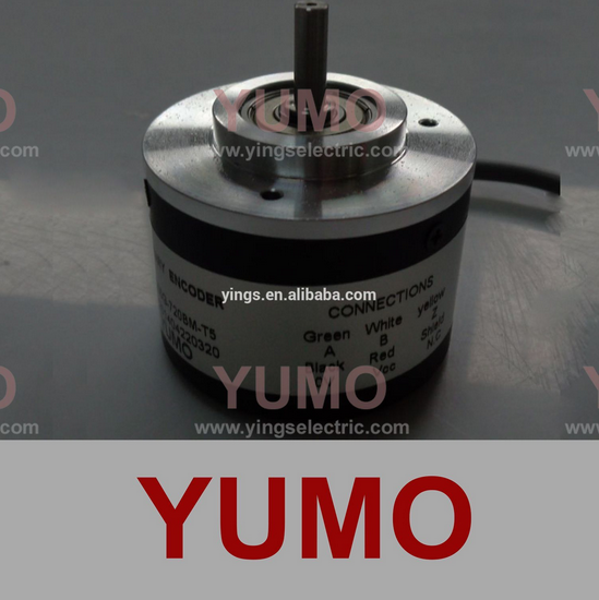 YUMO S5205G 720P/B 52mm 5mm incremental shaft rotary encoder