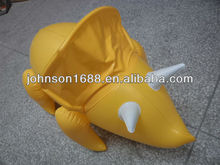 Inflatable Rhino/Inflatable dinosaur, custom pvc inflatable toys