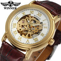 China watches gold skeleton man clock for sale , jam tangan otomatis