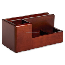 rosewood pen holder office desk organizer