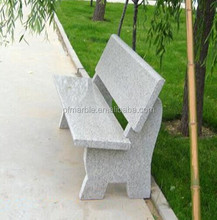 PFM hot sale natural garden decorative marble furniture bench and chair