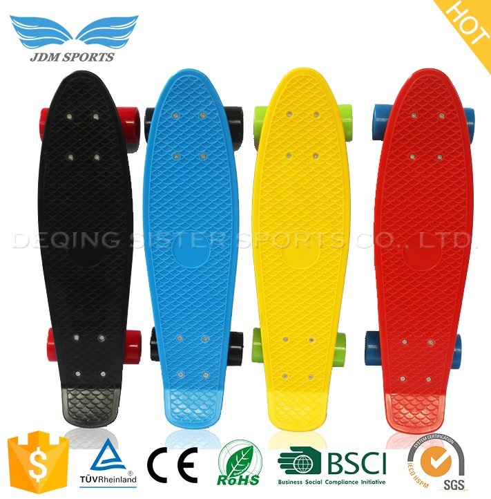 Fish Board Cruiser Compact Low Price Skate Scooter For Kids